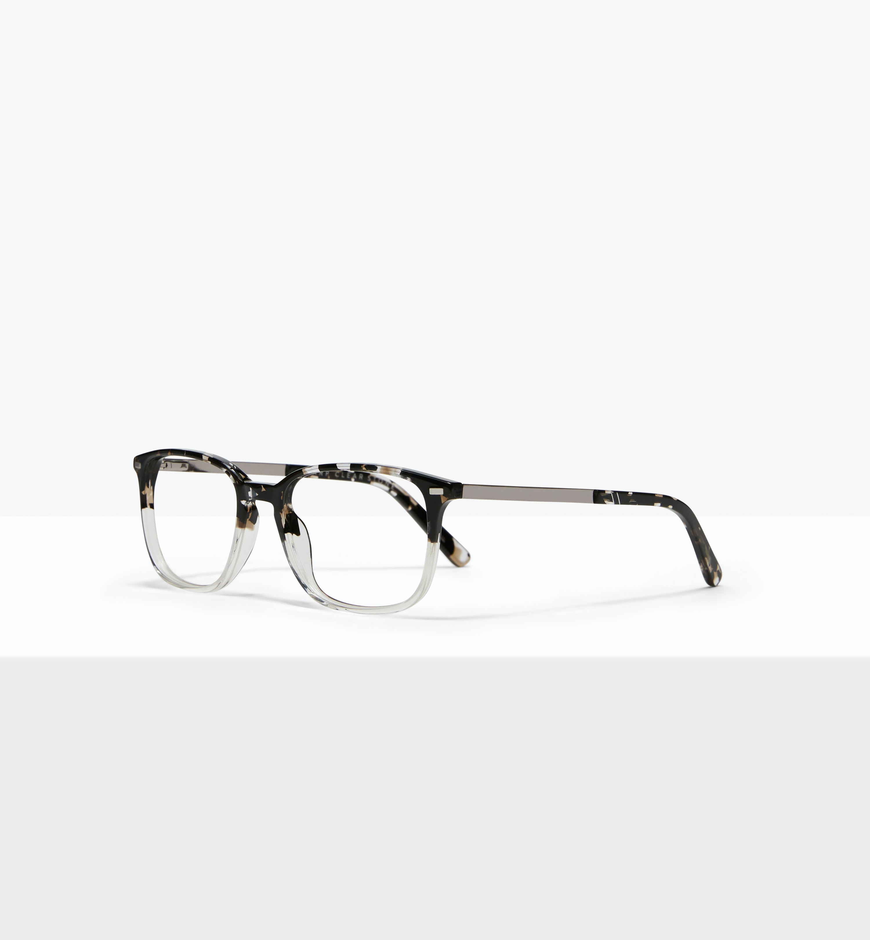Affordable Fashion Glasses Rectangle Eyeglasses Men Sharp Clear Stone Tilt