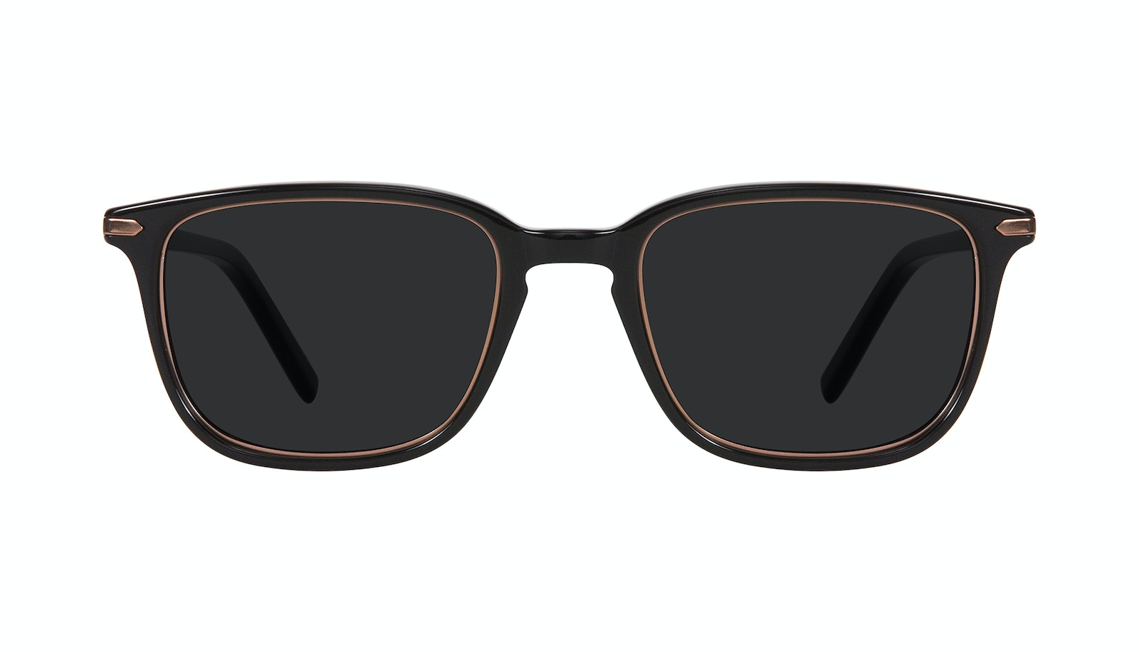 Affordable Fashion Glasses Square Sunglasses Men Sharp Lux Black Copper