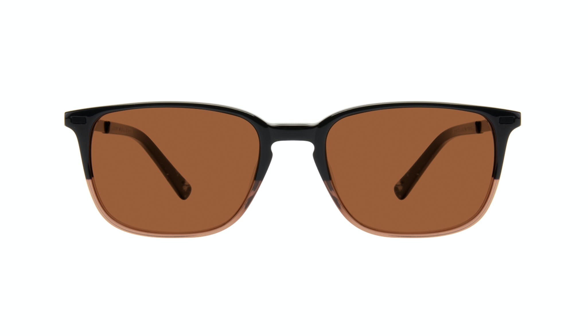 Affordable Fashion Glasses Rectangle Sunglasses Men Sharp Wood Terra Front