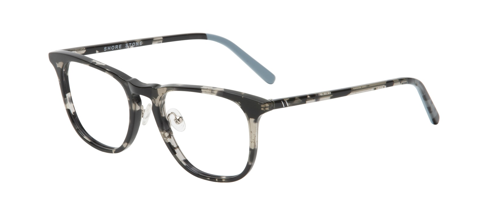 Affordable Fashion Glasses Square Eyeglasses Men Shore Stone Tilt