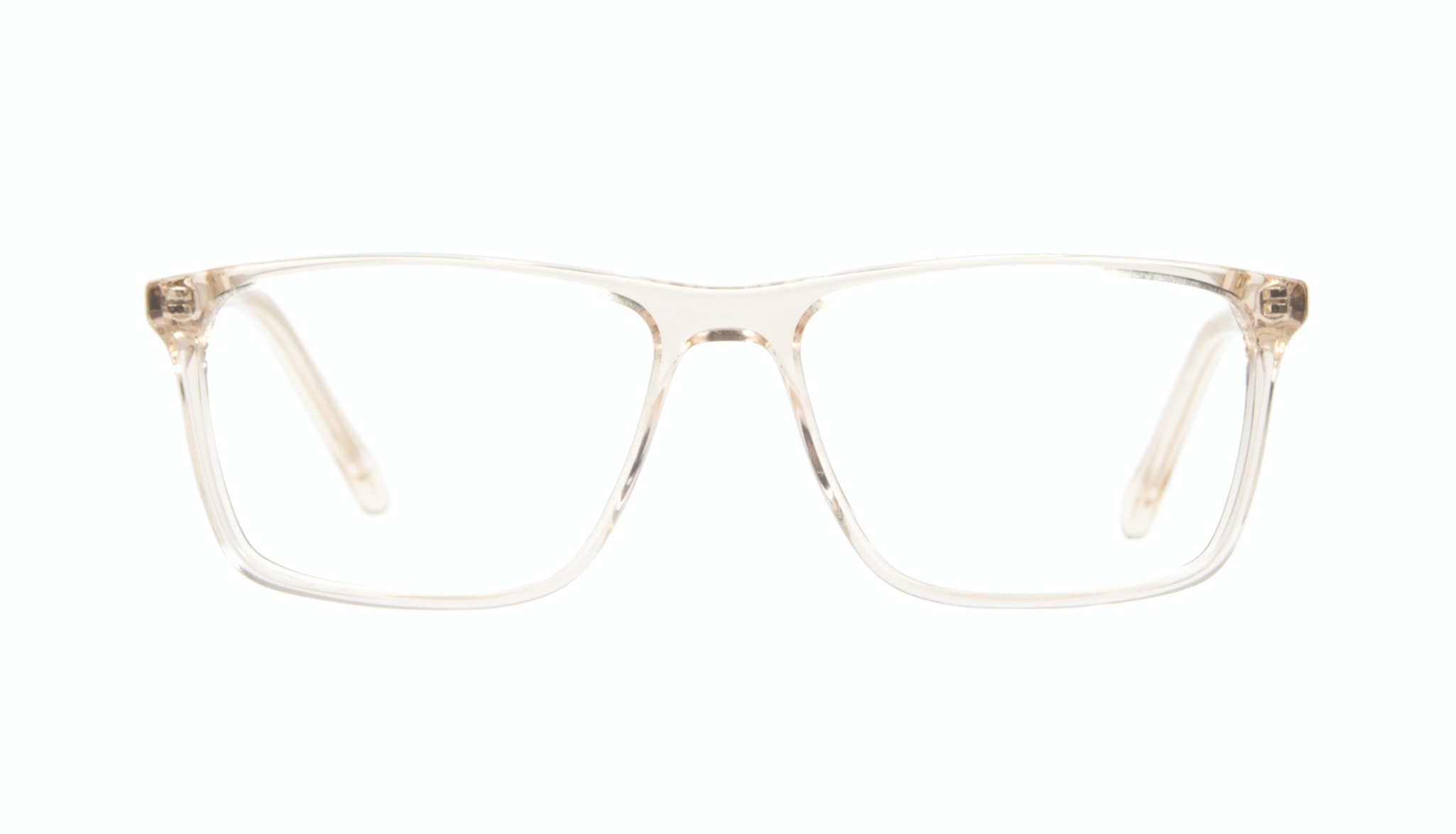 Affordable Fashion Glasses Rectangle Eyeglasses Men Skill Golden
