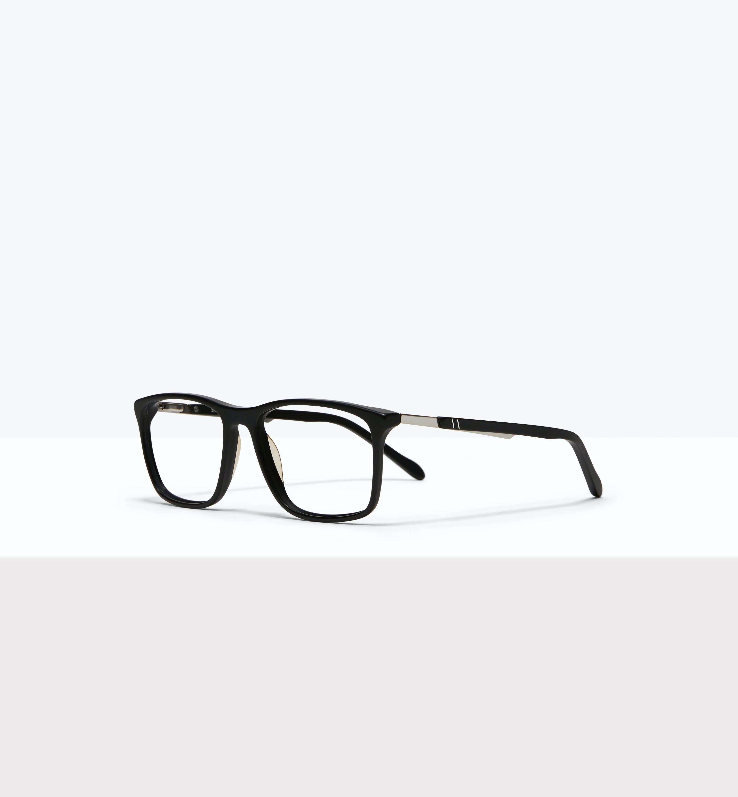 Affordable Fashion Glasses Rectangle Eyeglasses Men Skill Matt Black Tilt