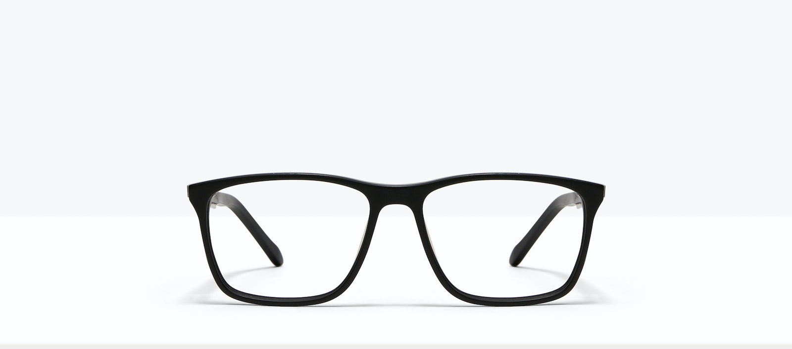 Affordable Fashion Glasses Rectangle Eyeglasses Men Skill Matt Black Front