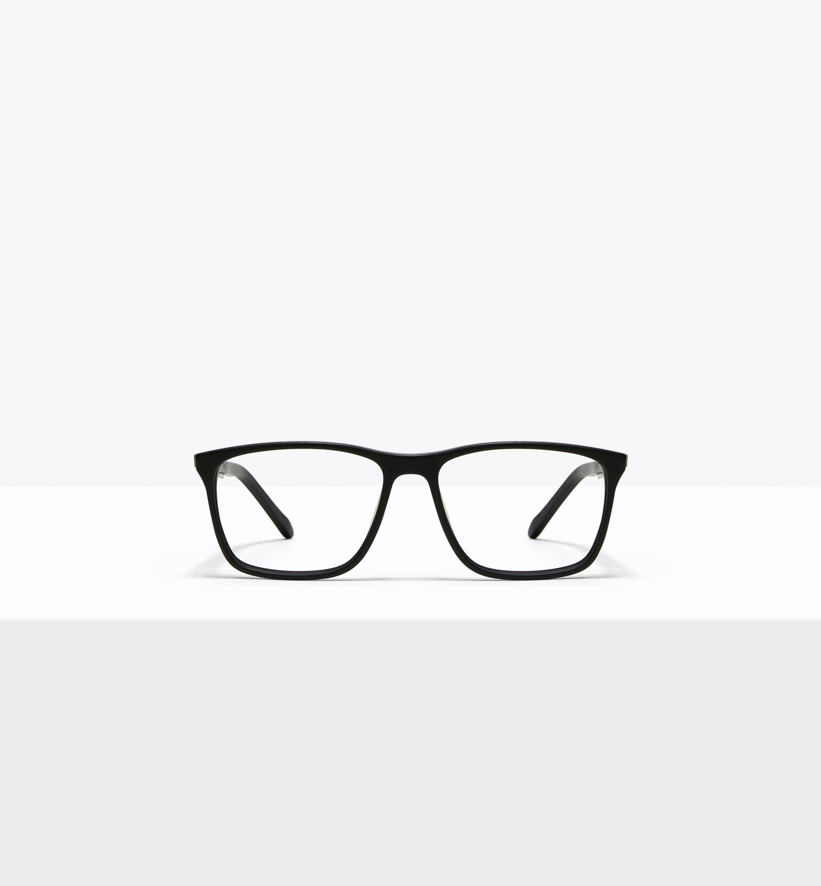 Affordable Fashion Glasses Rectangle Eyeglasses Men Skill Matt Black
