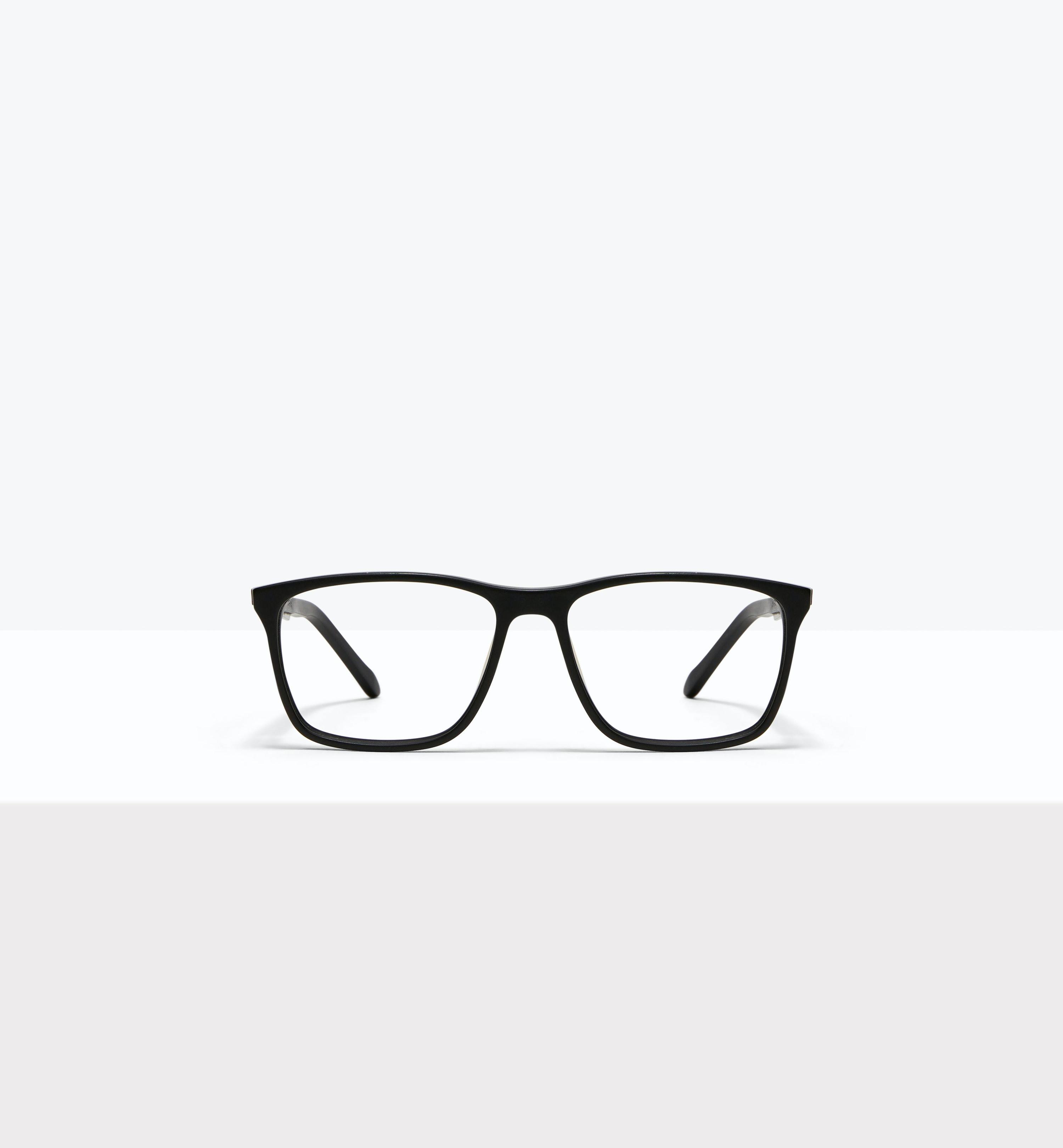 Affordable Fashion Glasses Rectangle Eyeglasses Men Skill Matt Black