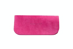 Affordable Fashion Glasses Accessory Women Sleeve Case  Fuchsia Suede