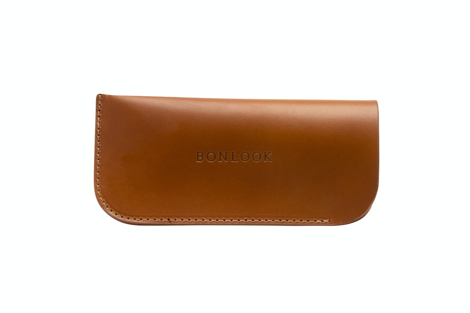 Affordable Fashion Glasses Accessory Men Women Sleeve Case  Tan Front
