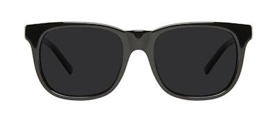 Affordable Fashion Glasses Square Sunglasses Men Solo Black Front