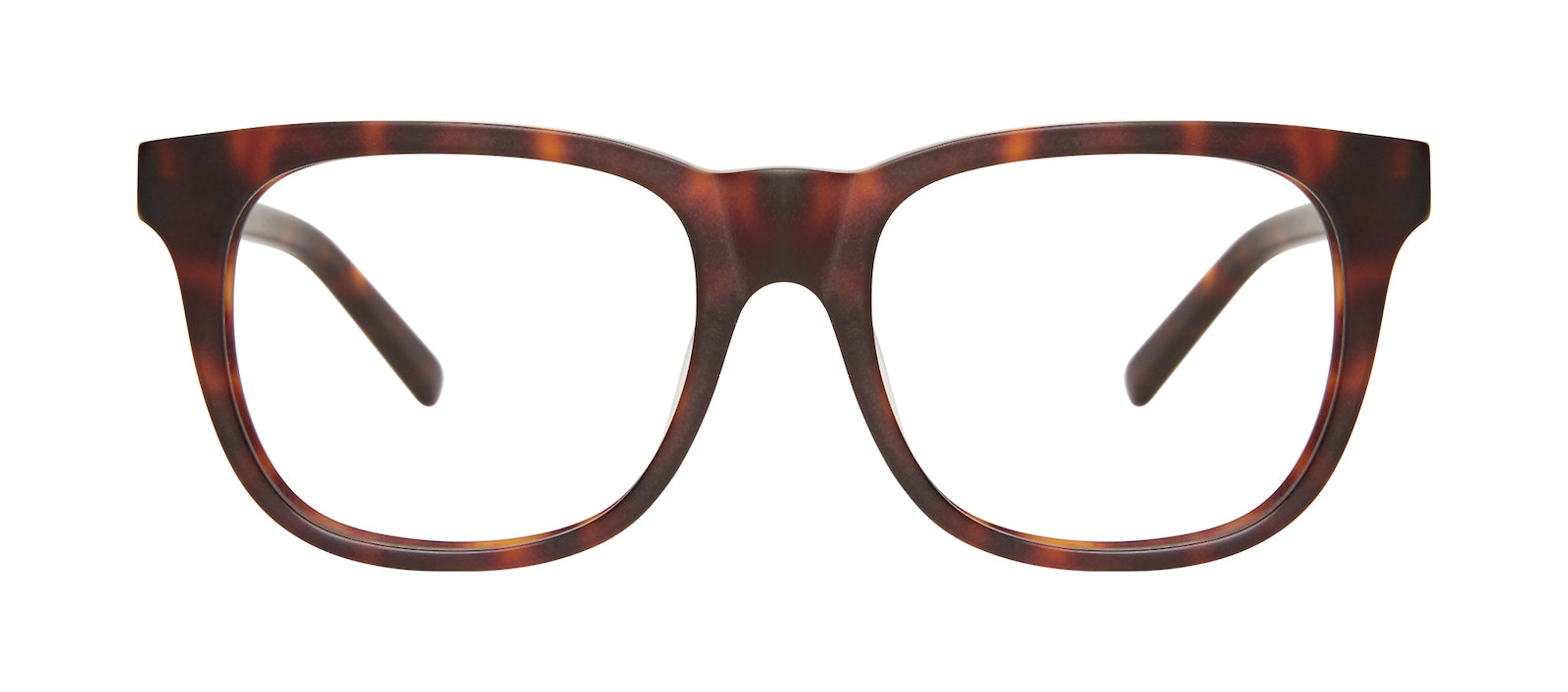 Affordable Fashion Glasses Square Eyeglasses Men Solo Matte Tortoise Front