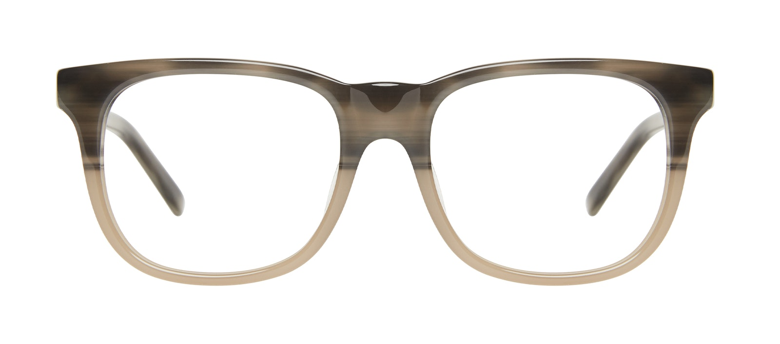 Affordable Fashion Glasses Square Eyeglasses Men Solo Two Tone Stone Front