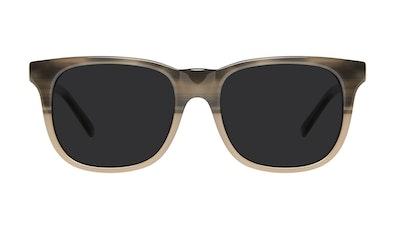 Affordable Fashion Glasses Square Sunglasses Men Solo Two Tone Stone Front