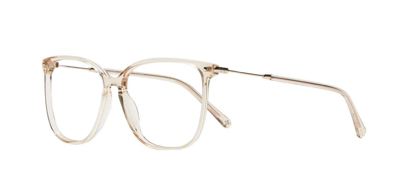 Affordable Fashion Glasses Square Eyeglasses Women Sonia M Blush Tilt