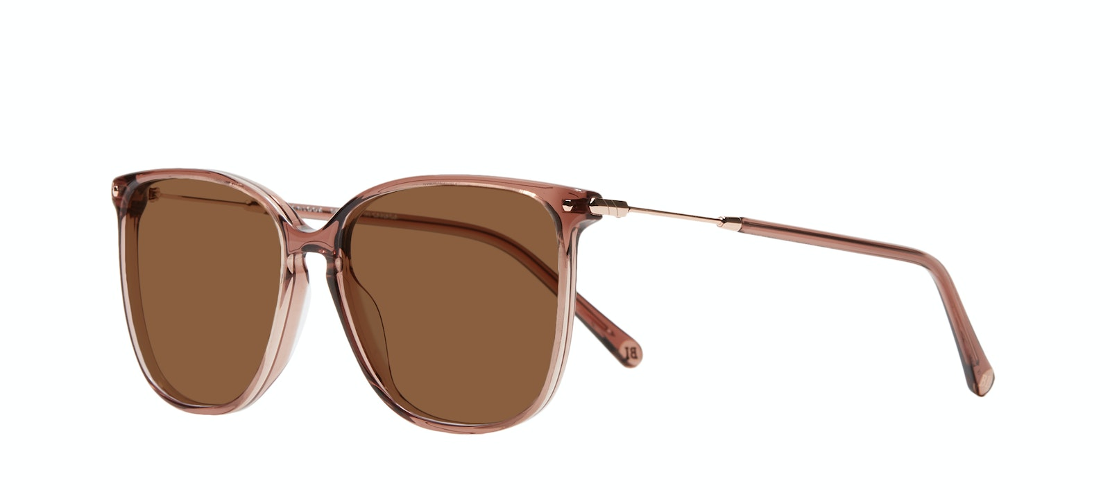 Affordable Fashion Glasses Square Sunglasses Women Sonia M Dark Terra Tilt