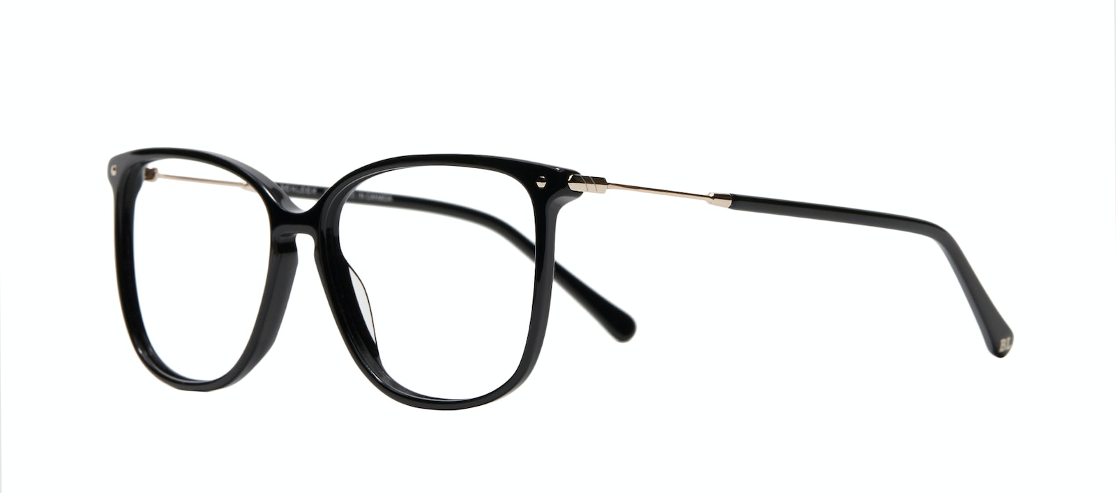 Affordable Fashion Glasses Square Eyeglasses Women Sonia M Pitch Black Tilt