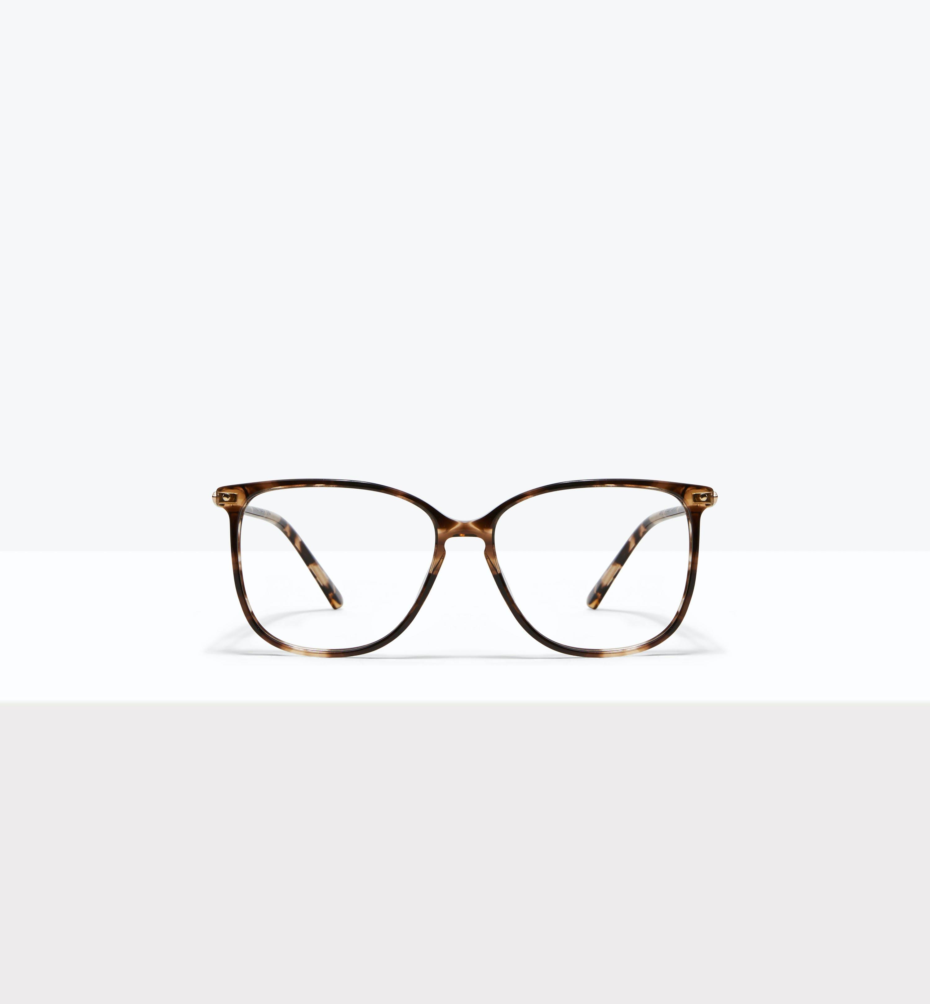 Affordable Fashion Glasses Square Eyeglasses Women Sonia Snake Skin Front