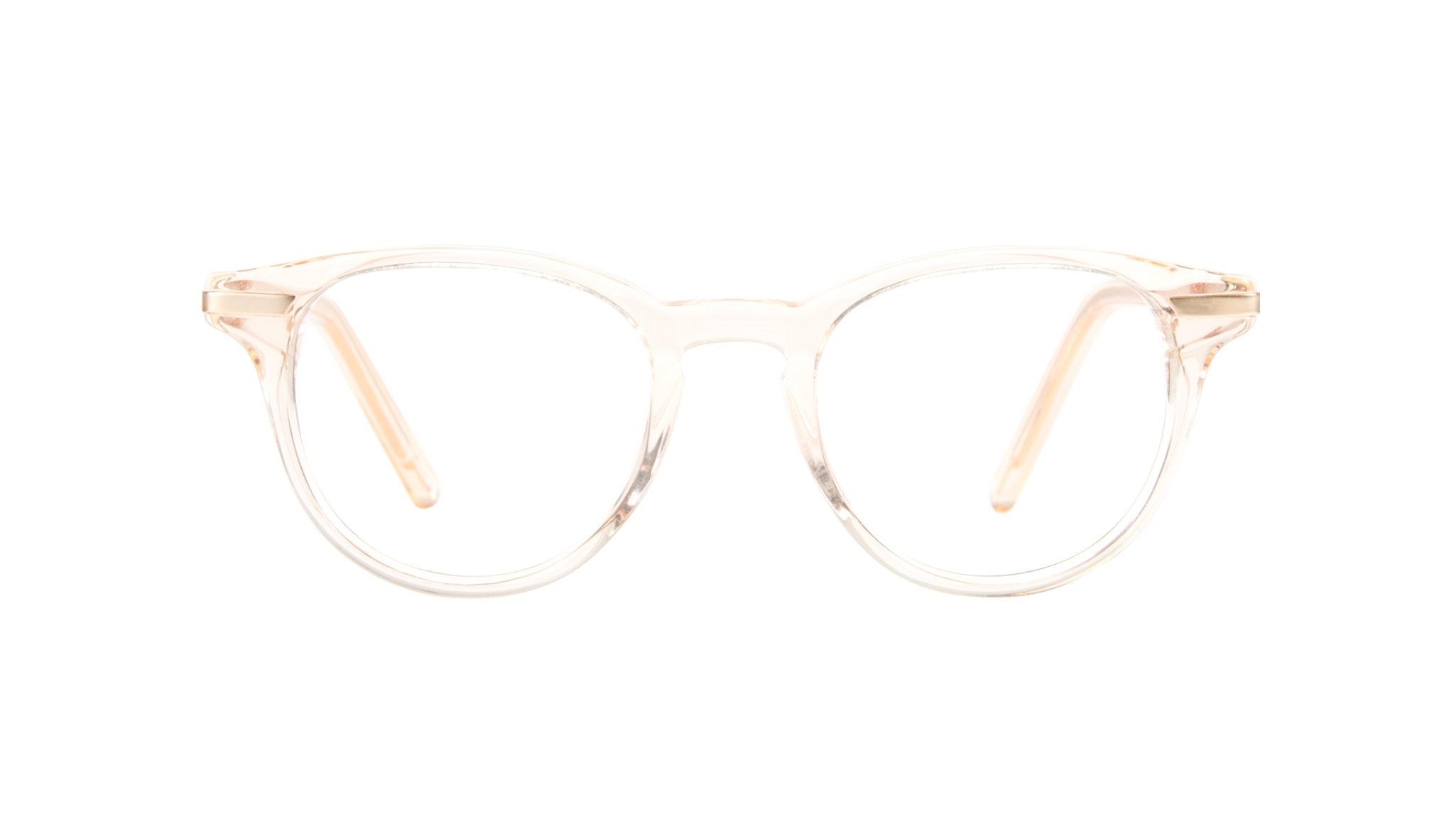 Affordable Fashion Glasses Round Eyeglasses Women Spark Blond Front