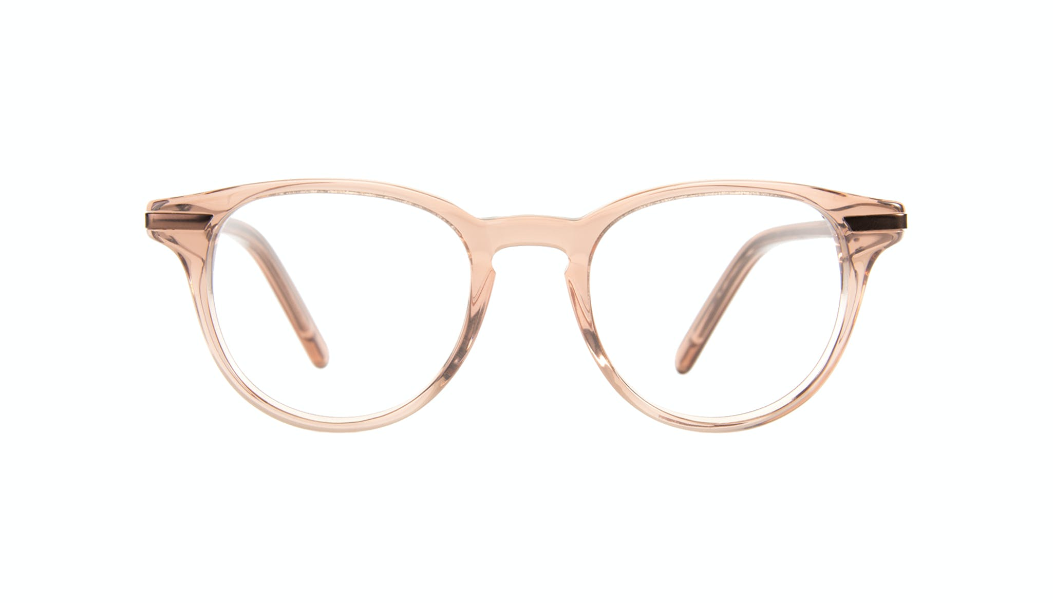 Affordable Fashion Glasses Round Eyeglasses Women Spark Rose Front