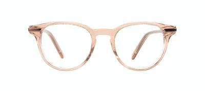 Affordable Fashion Glasses Round Eyeglasses Women Spark Rose Front
