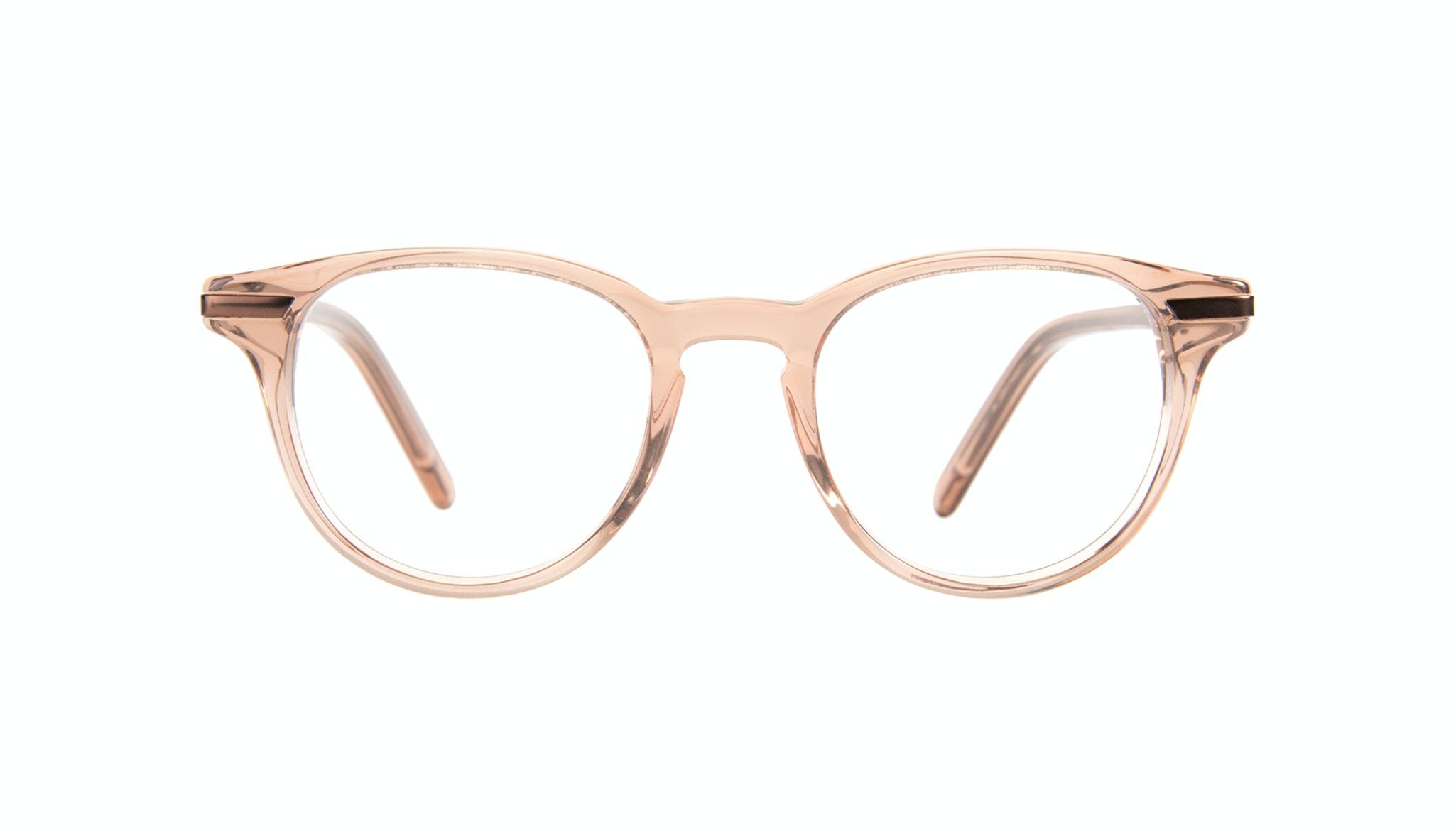 Affordable Fashion Glasses Round Eyeglasses Women Spark Rose