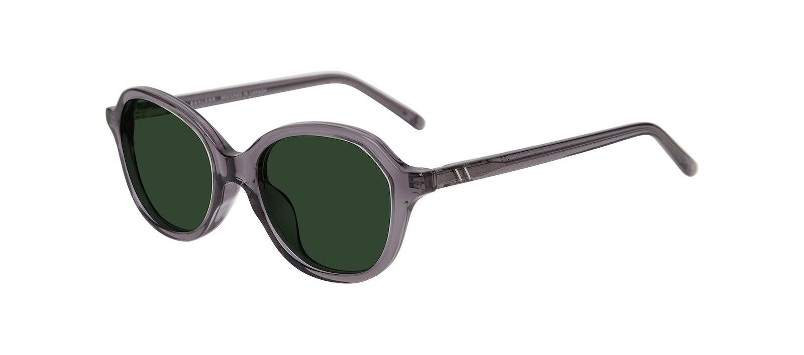 Affordable Fashion Glasses Square Sunglasses Kids Stage Junior Grey Tilt