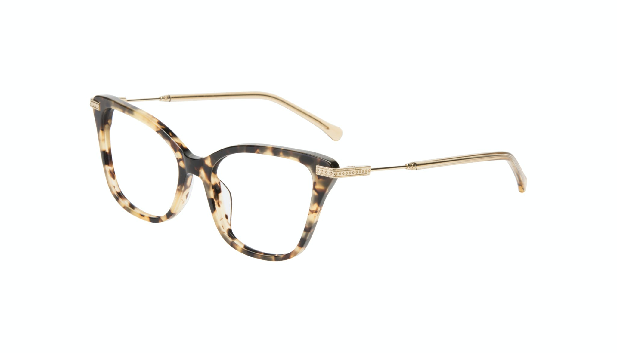 Affordable Fashion Glasses Cat Eye Eyeglasses Women Stargaze Golden Chip Tilt
