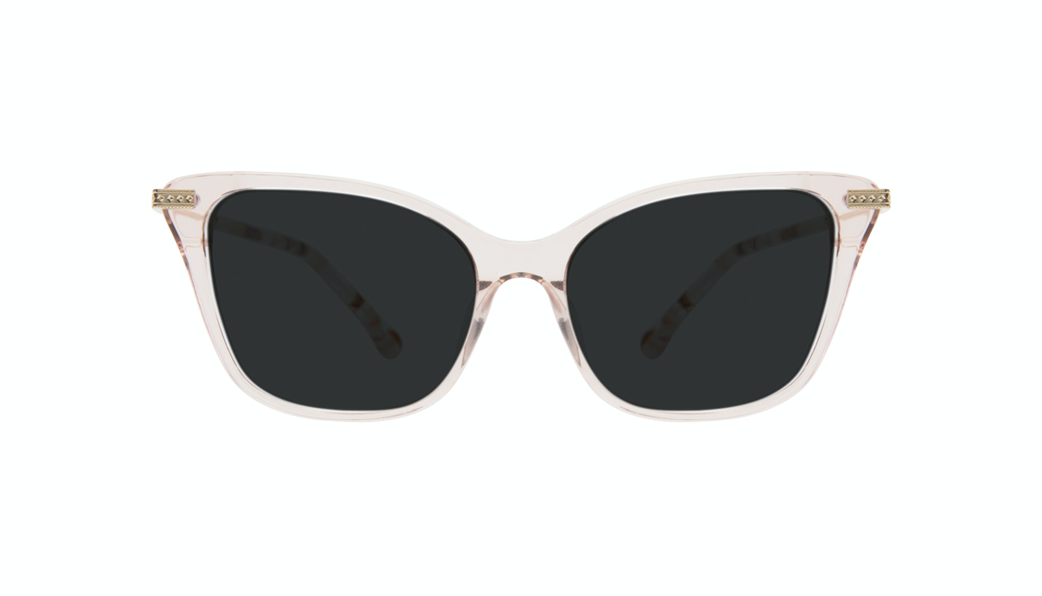 Affordable Fashion Glasses Cat Eye Sunglasses Women Stargaze Pink Quartz Front