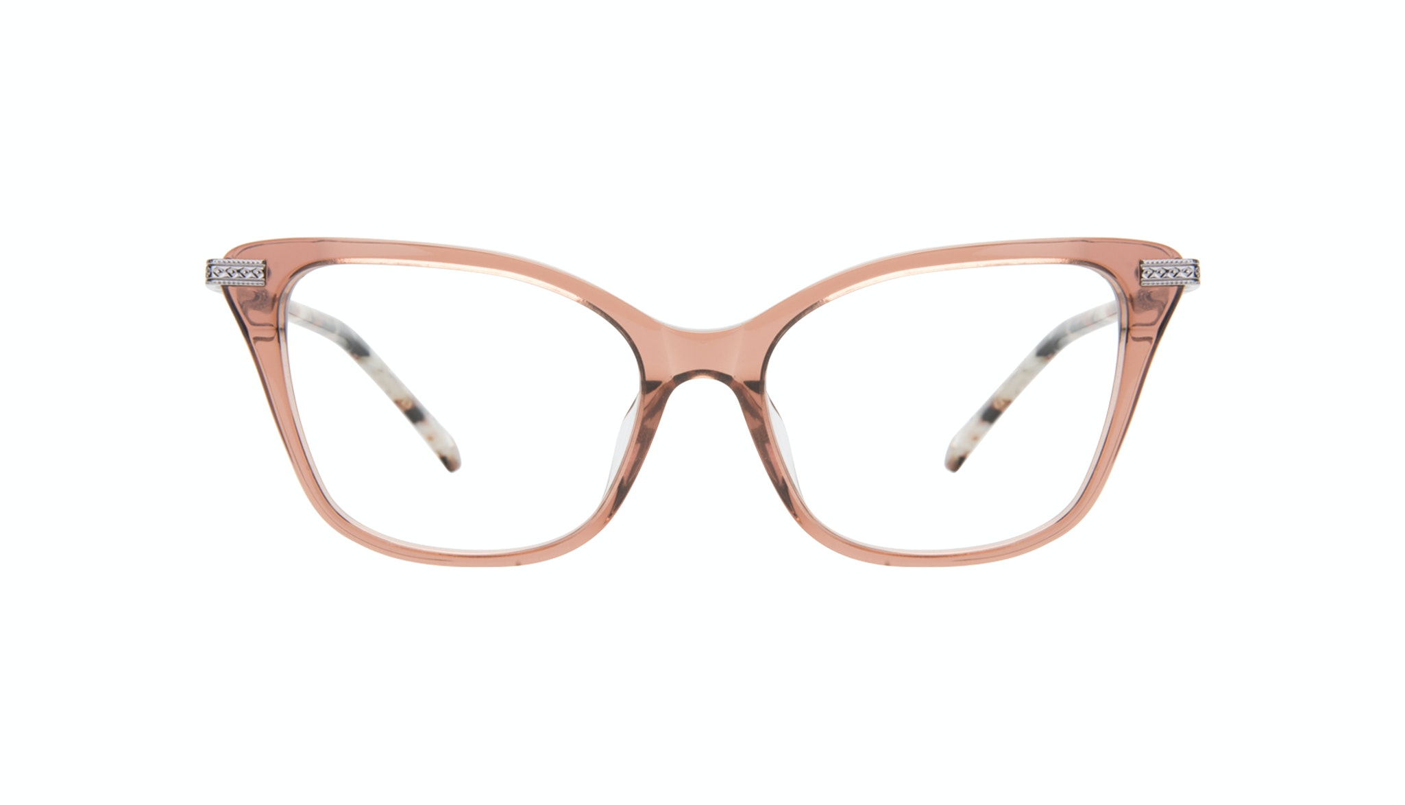 Affordable Fashion Glasses Cat Eye Eyeglasses Women Stargaze Truffle Rose