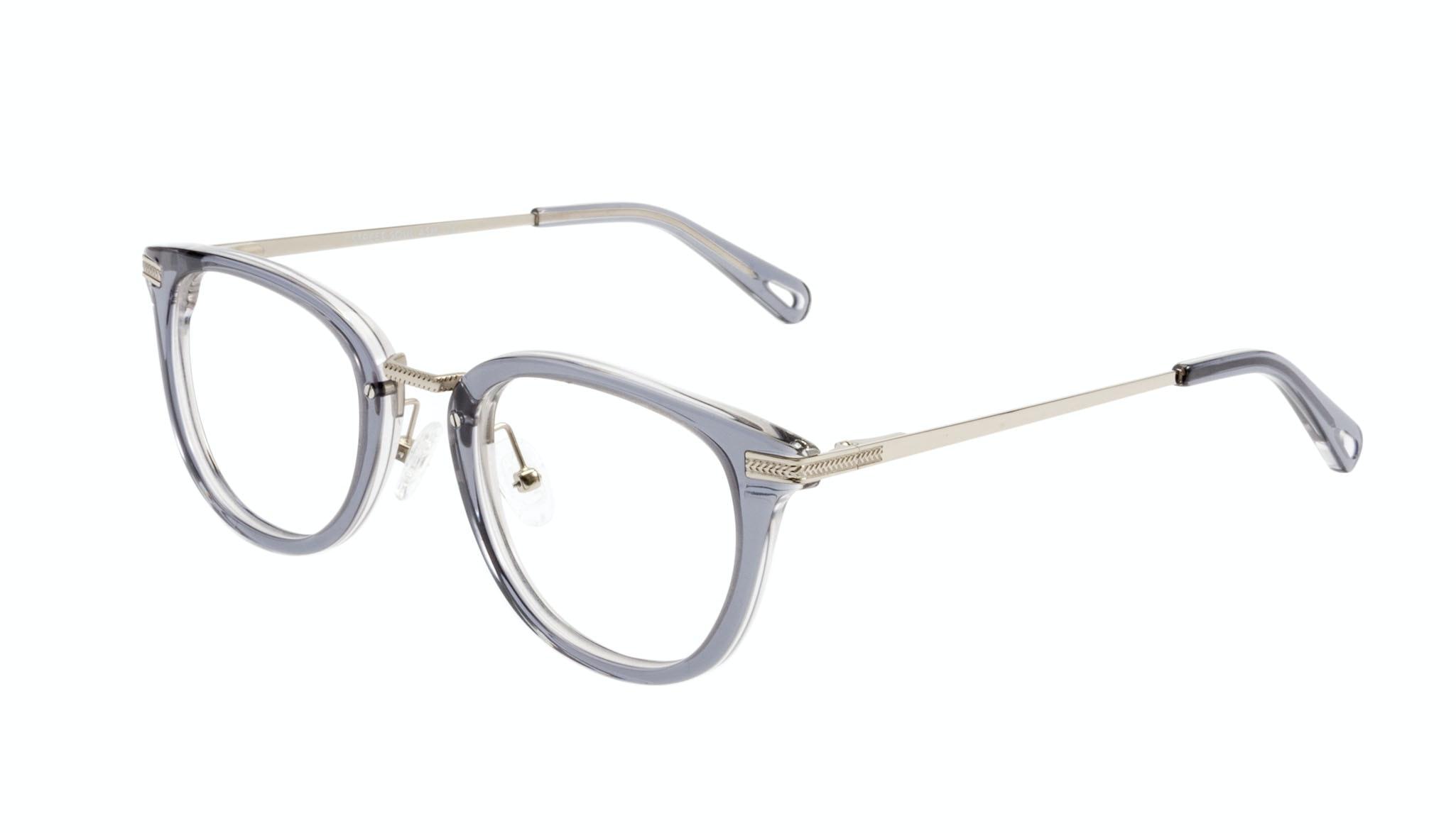 Affordable Fashion Glasses Rectangle Square Eyeglasses Men Street Soul Ash Tilt