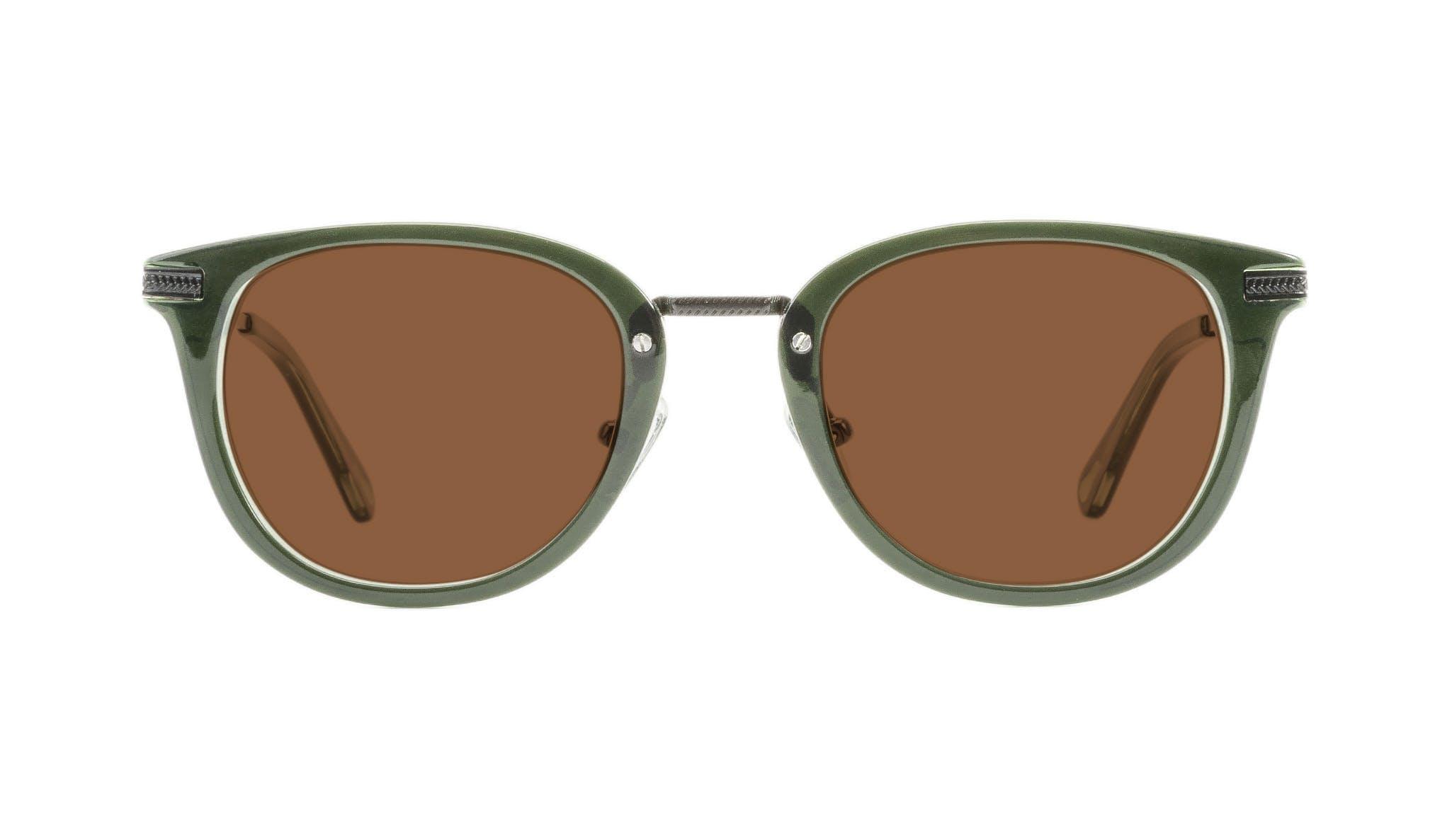 Affordable Fashion Glasses Rectangle Square Sunglasses Men Street Soul Olive Front