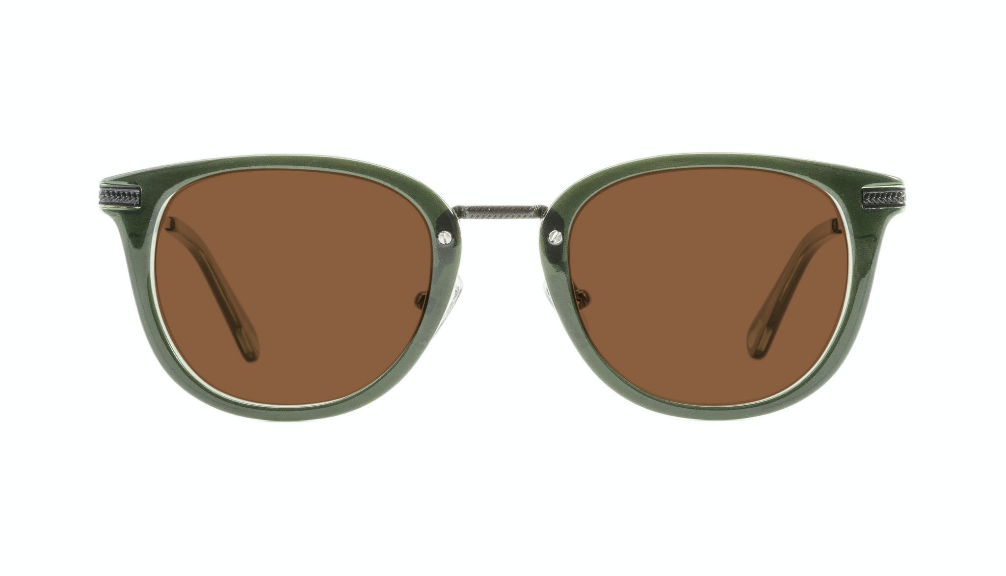 Affordable Fashion Glasses Rectangle Square Sunglasses Men Street Soul Olive Front