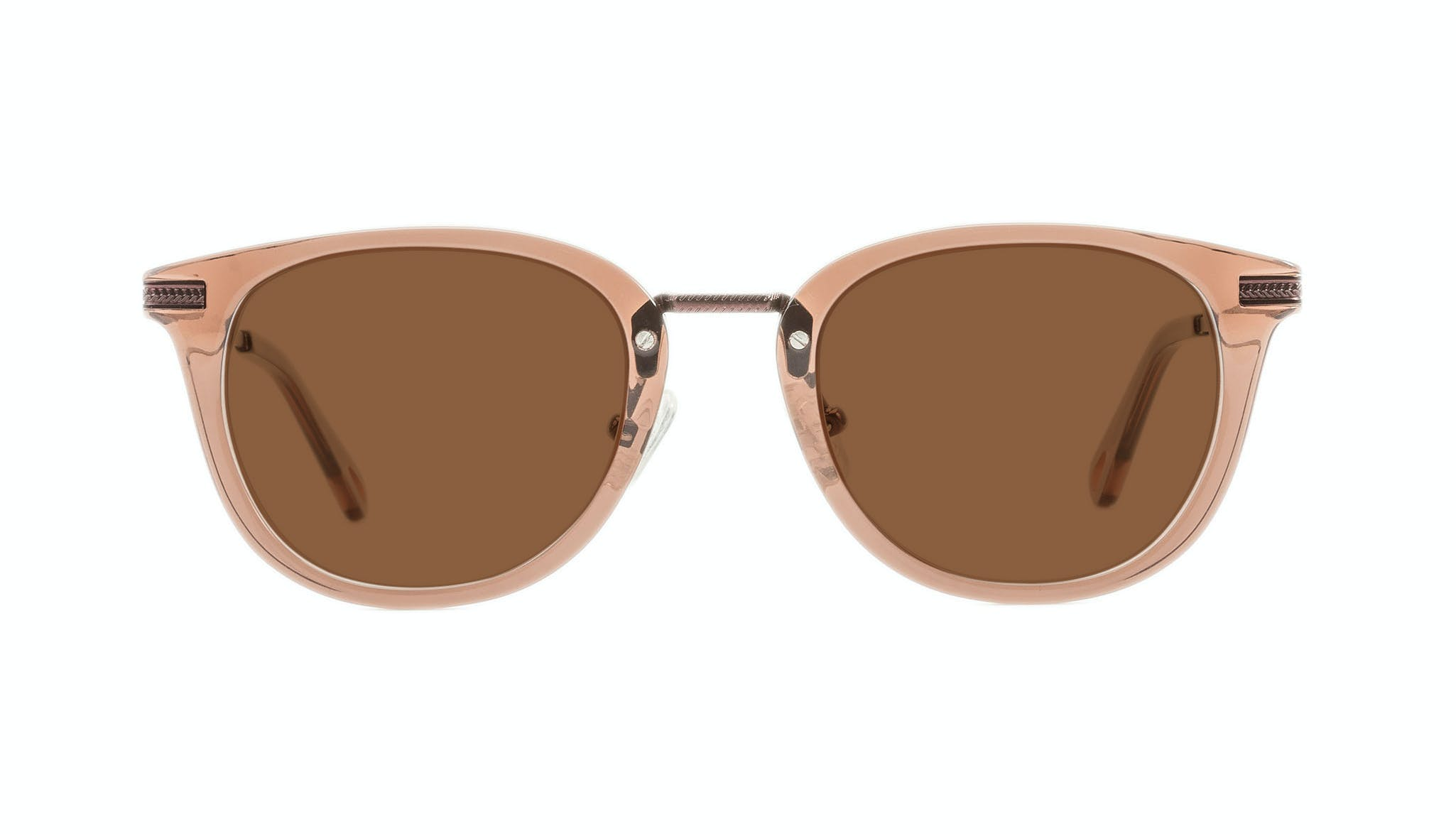 Affordable Fashion Glasses Rectangle Square Sunglasses Men Street Soul Chestnut Front