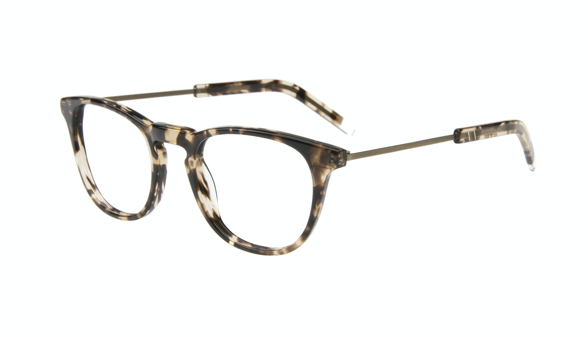Affordable Fashion Glasses Rectangle Square Eyeglasses Men Sturdy Gold Tort Tilt