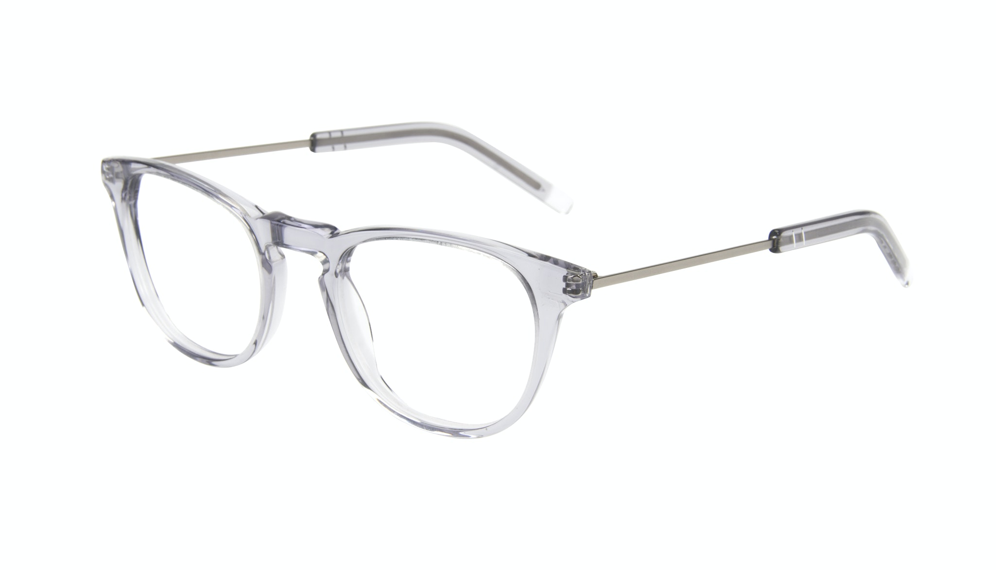 Affordable Fashion Glasses Rectangle Square Eyeglasses Men Sturdy Steel Tilt
