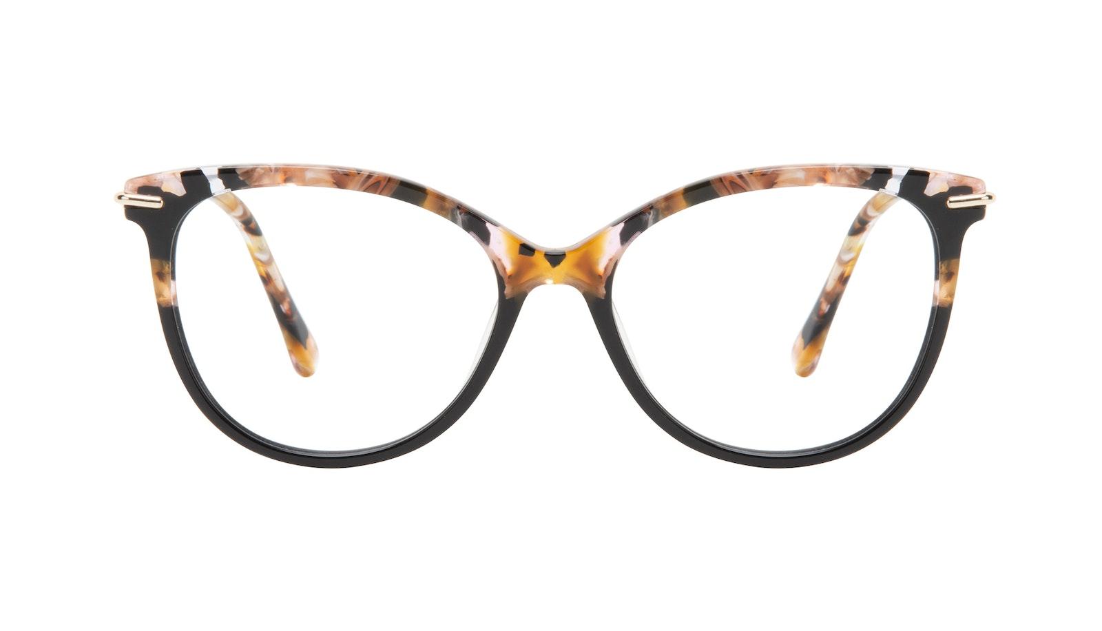b2ca7962a2 Affordable Fashion Glasses Round Eyeglasses Women Sublime Black Flake