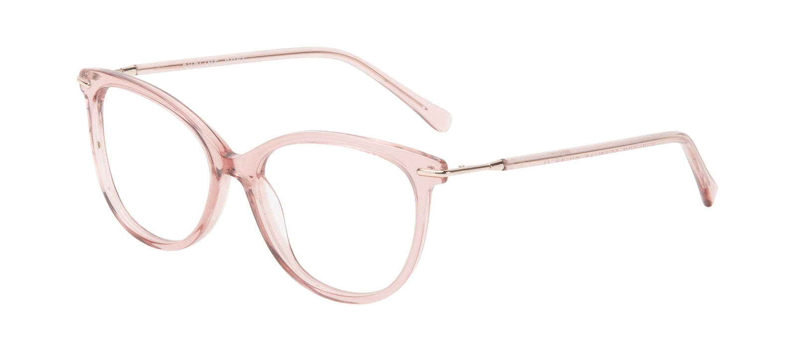 Affordable Fashion Glasses Round Eyeglasses Women Sublime Rose Tilt