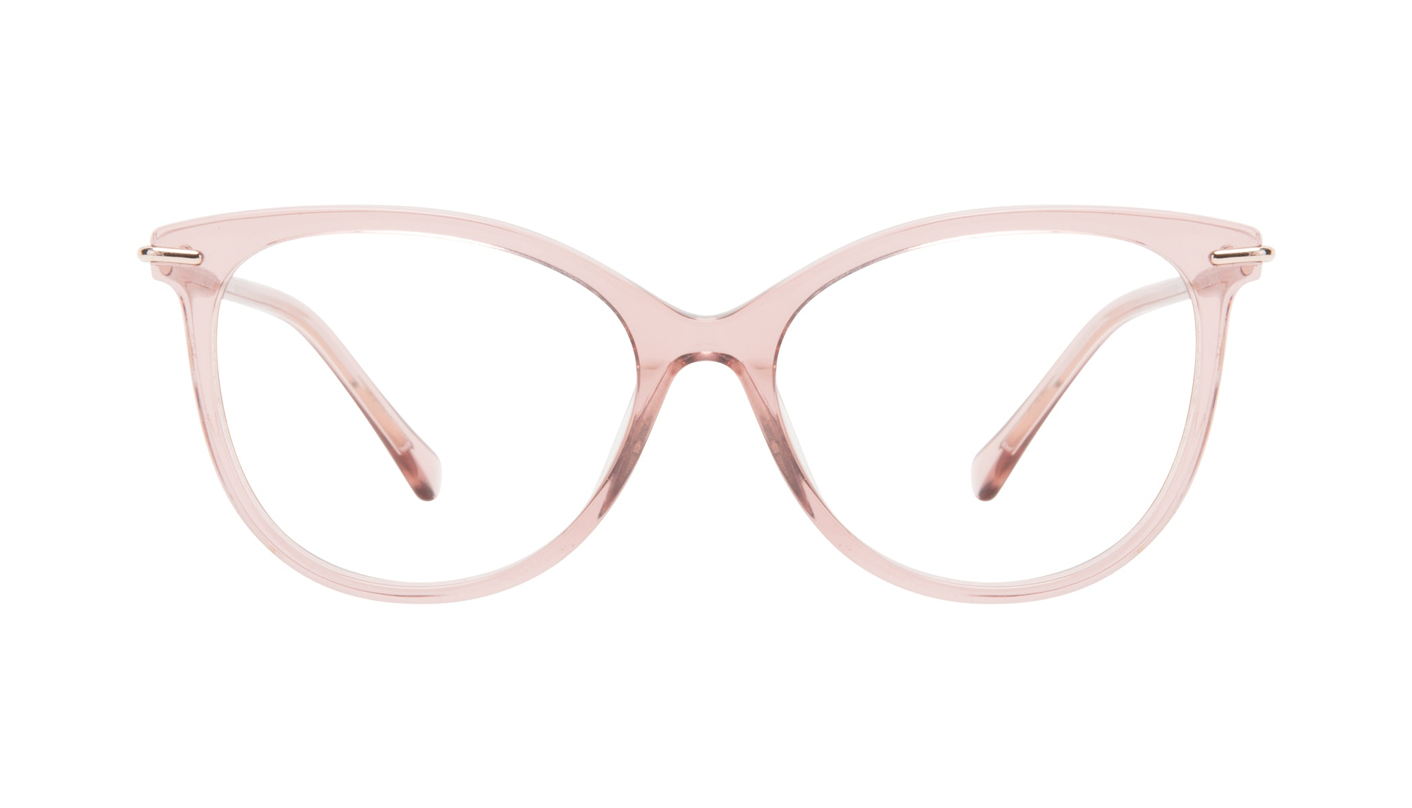 Affordable Fashion Glasses Round Eyeglasses Women Sublime Rose Front