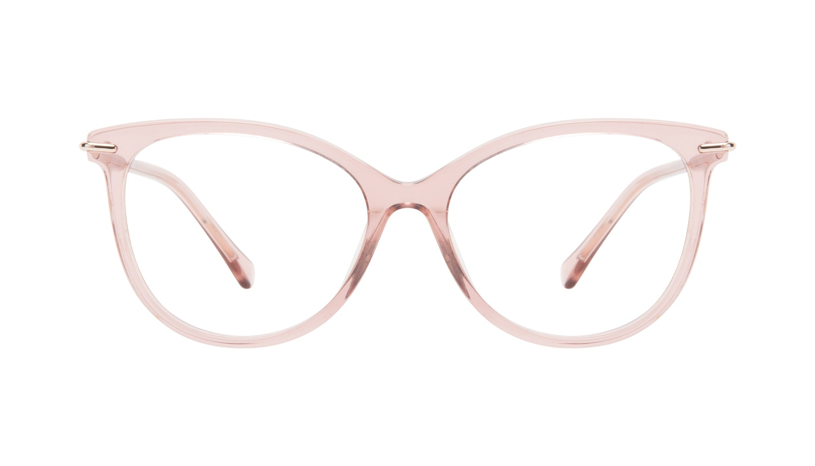 Affordable Fashion Glasses Round Eyeglasses Women Sublime Rose