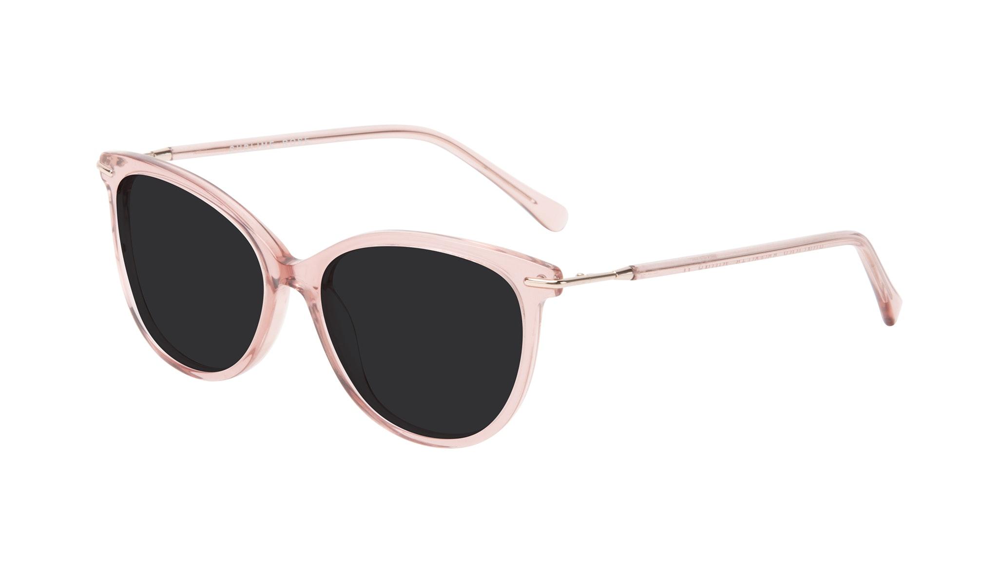 Affordable Fashion Glasses Round Sunglasses Women Sublime Rose Tilt