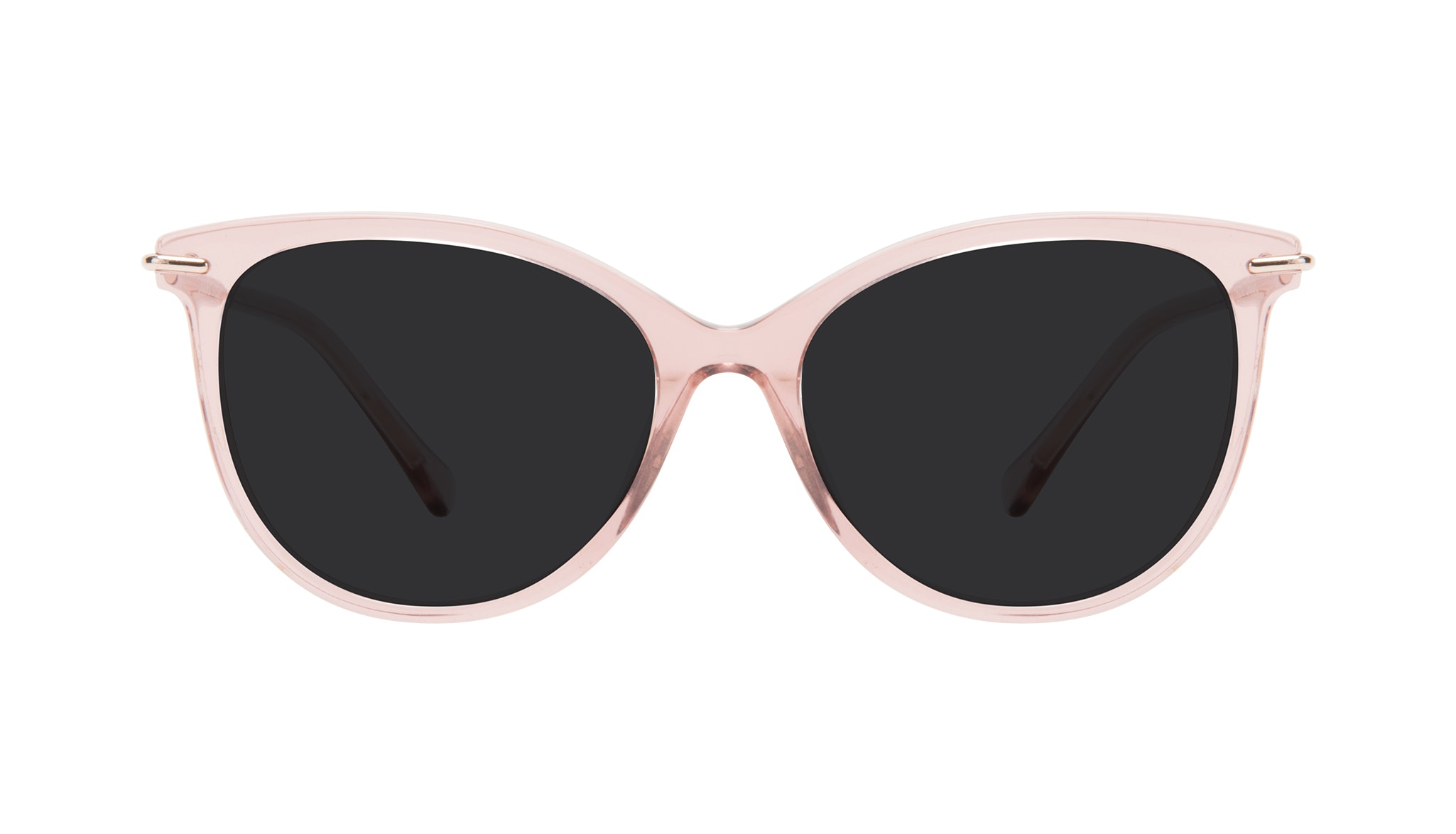 Affordable Fashion Glasses Round Sunglasses Women Sublime Rose Front