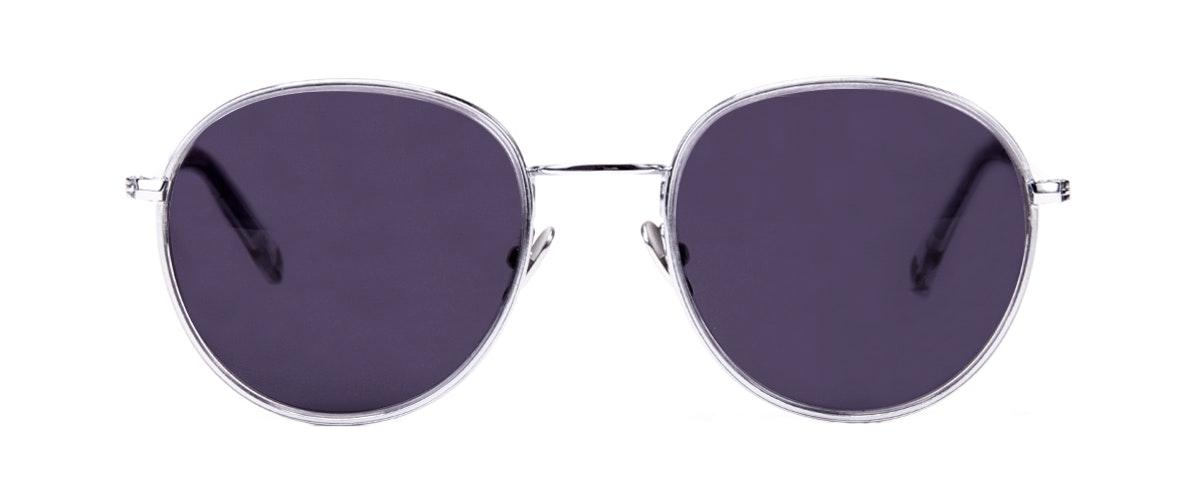 aviator round sunglasses  Women\u0027s Sunglasses - Subrosa in Glacier