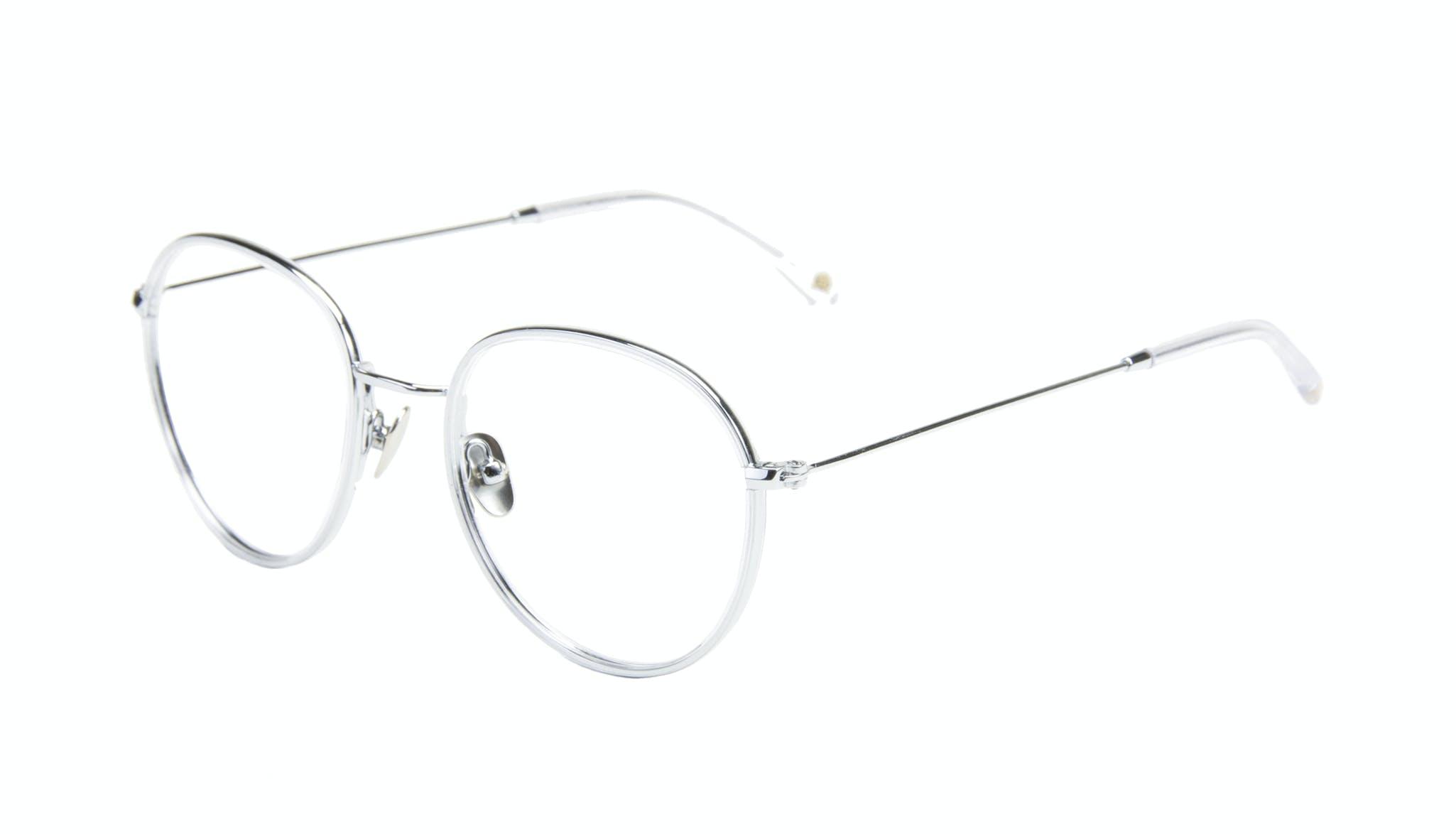 Affordable Fashion Glasses Aviator Round Eyeglasses Women Subrosa Glacier Tilt