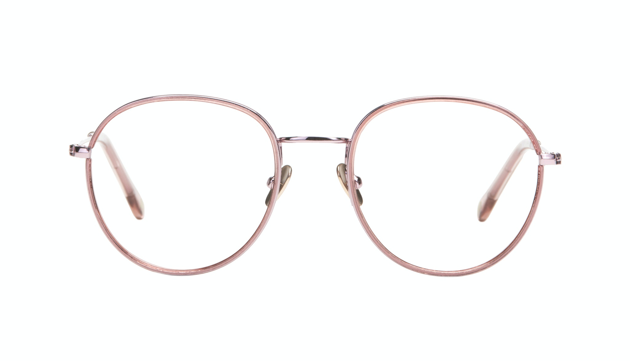 Affordable Fashion Glasses Aviator Round Eyeglasses Women Subrosa Romance Front