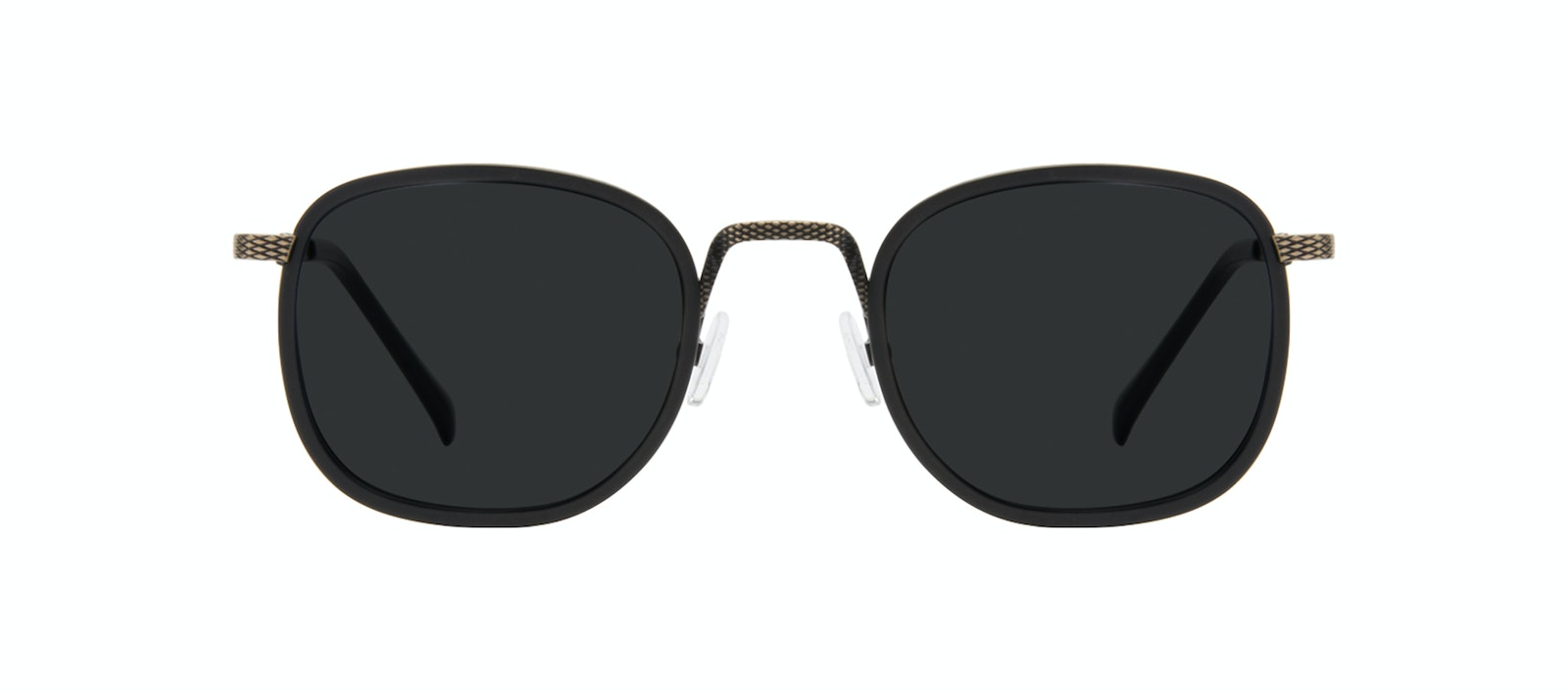 Affordable Fashion Glasses Square Sunglasses Men Swell Onyx Matte Front