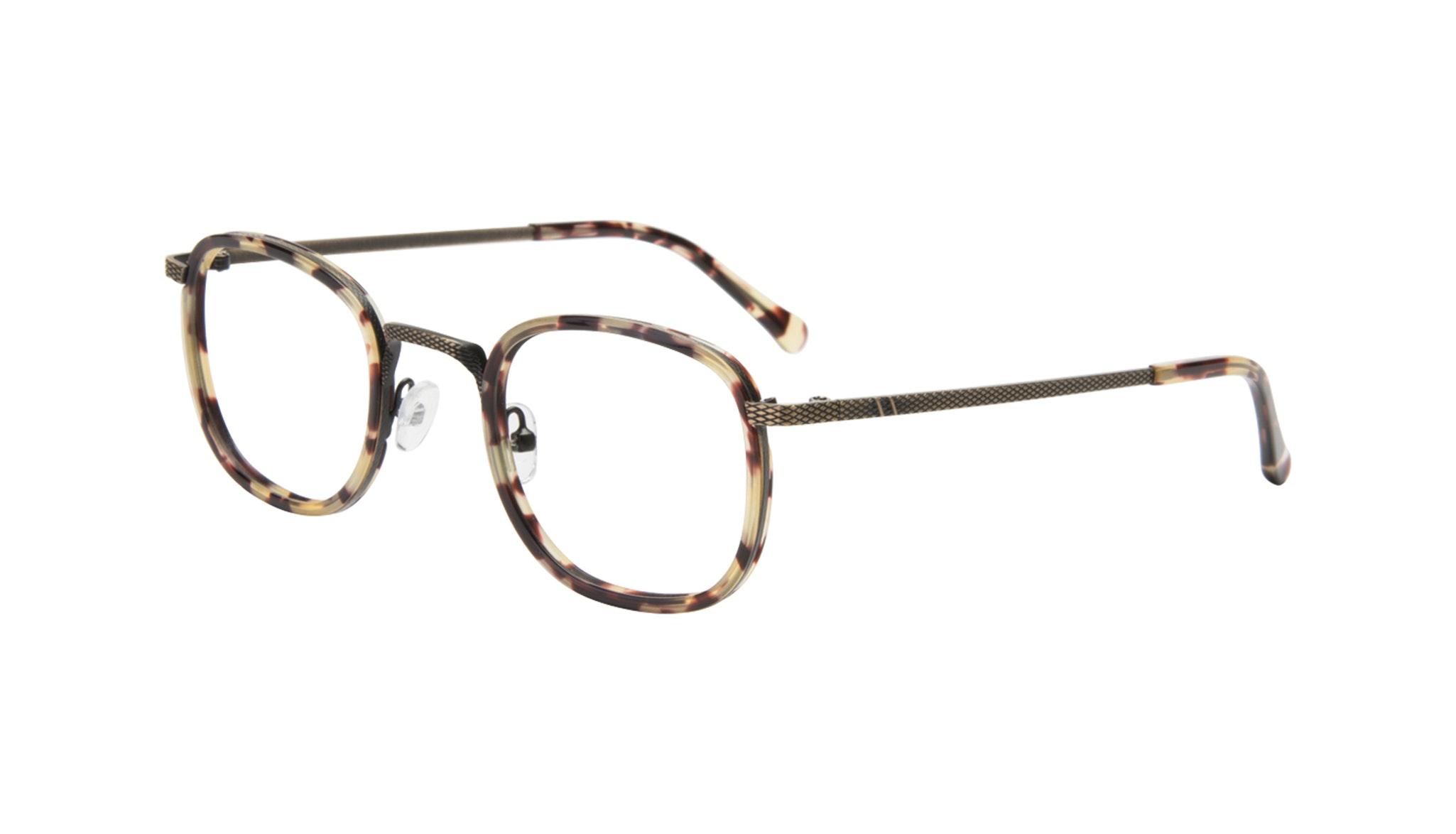 Affordable Fashion Glasses Square Eyeglasses Men Swell Antique Tort Tilt