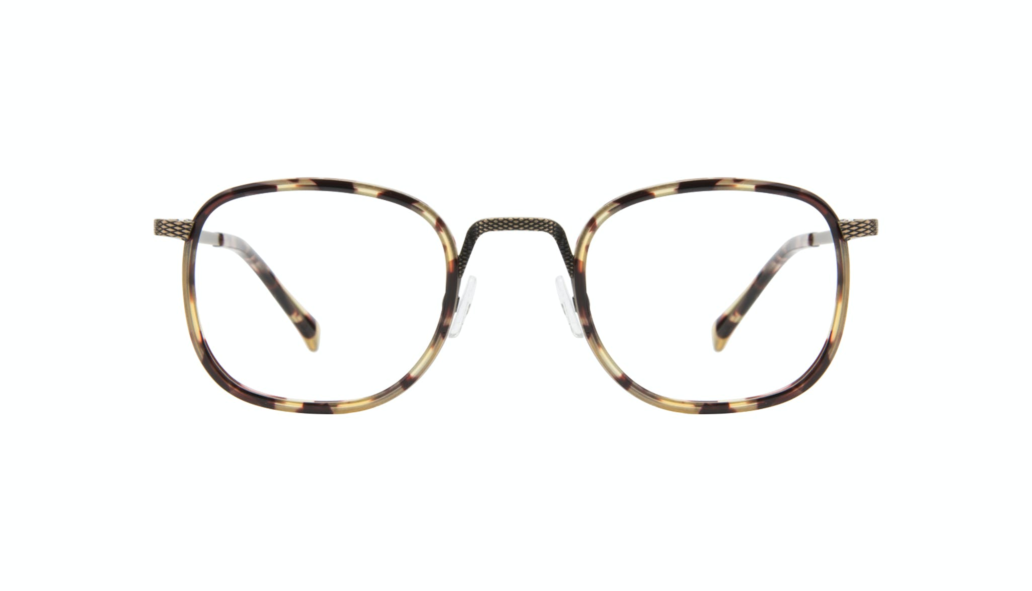 Affordable Fashion Glasses Square Eyeglasses Men Swell Antique Tort Front