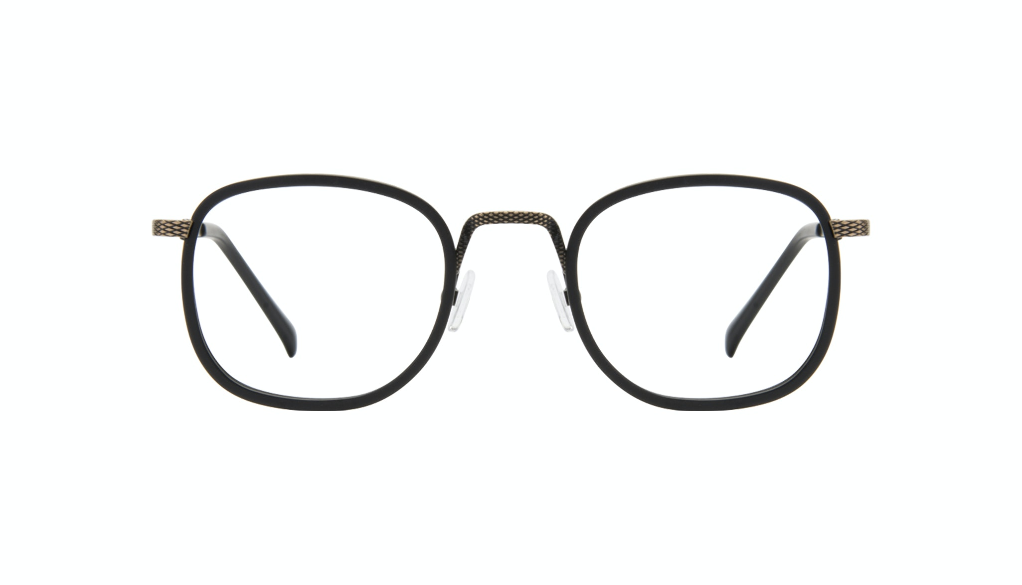 Affordable Fashion Glasses Square Eyeglasses Men Swell Onyx Matte Front