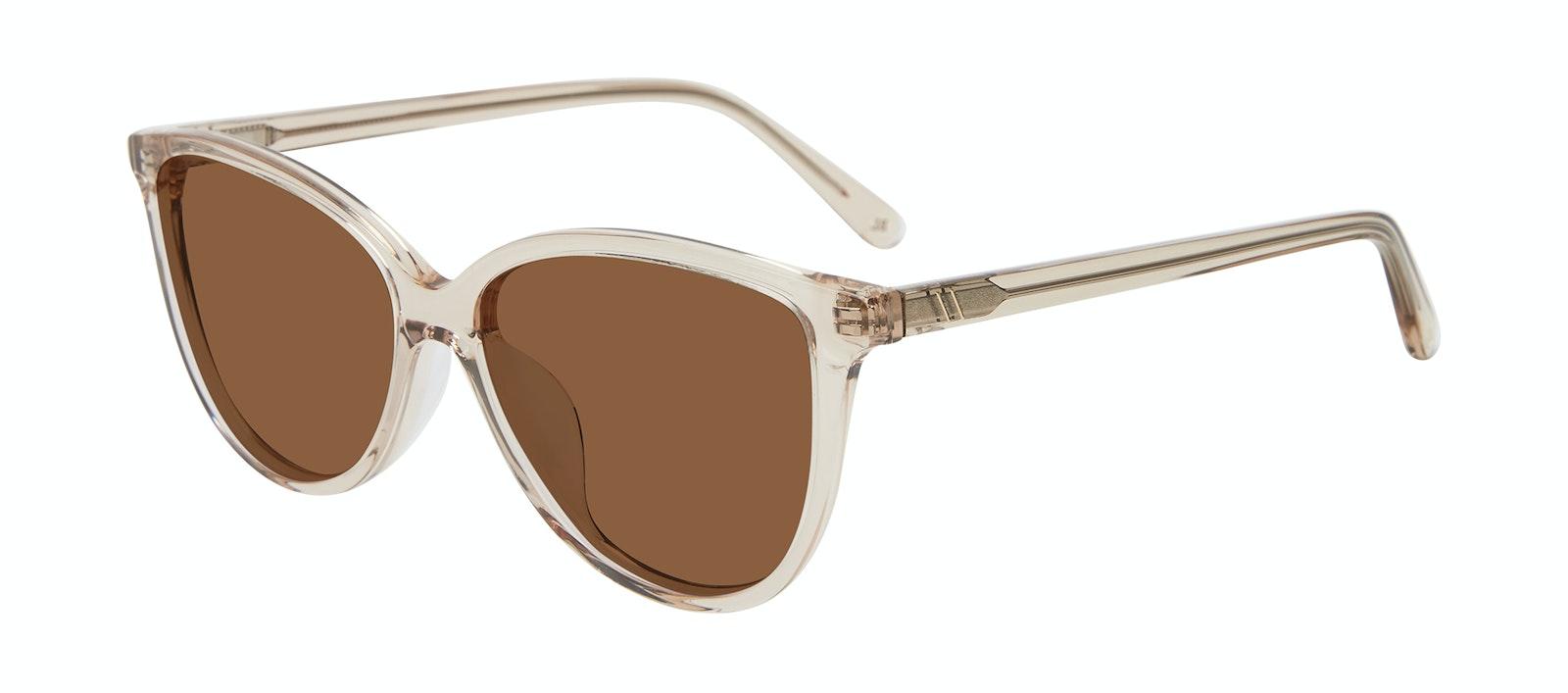 Affordable Fashion Glasses Cat Eye Sunglasses Women Tailor Blond Tilt