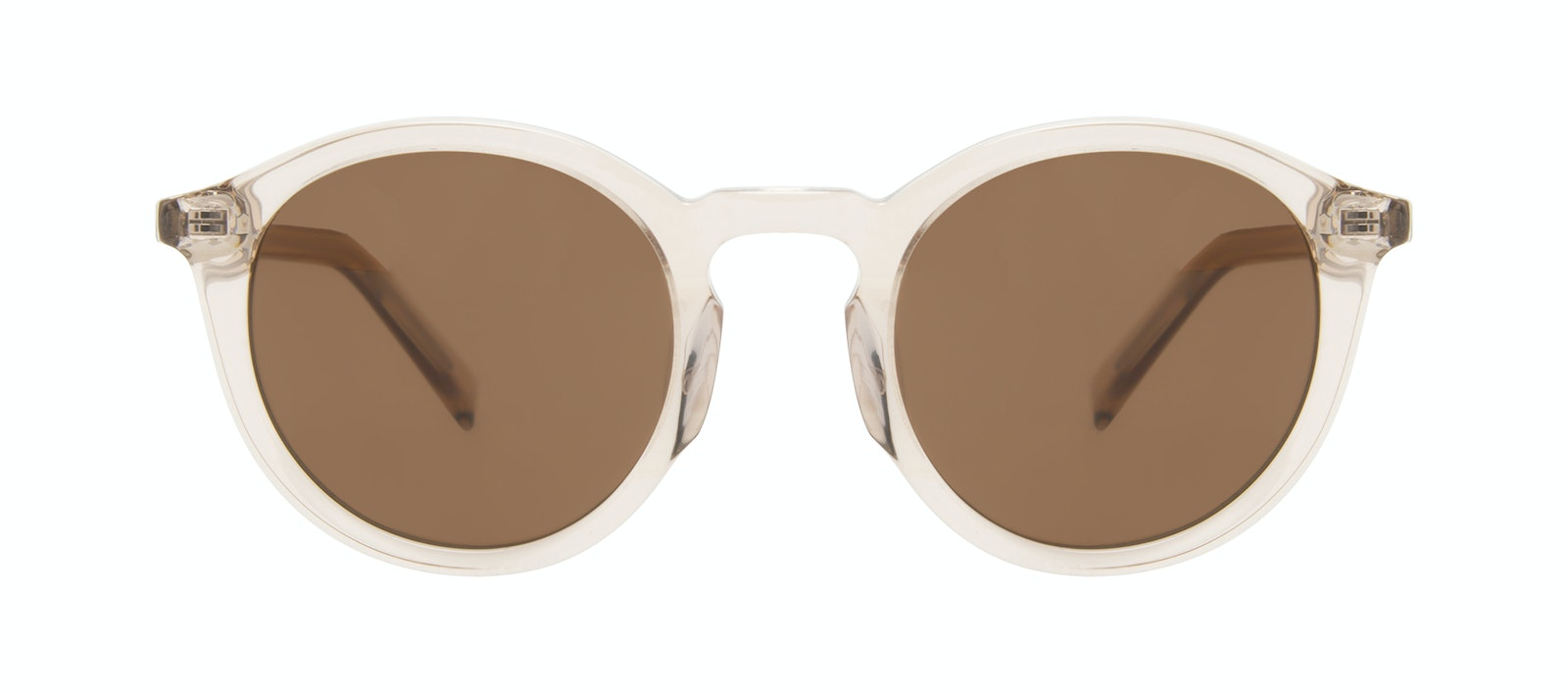 Affordable Fashion Glasses Round Sunglasses Men Thrill Clay Front