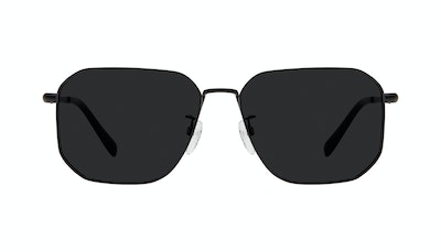 Affordable Fashion Glasses Square Sunglasses Men Timeless Matte Black Front
