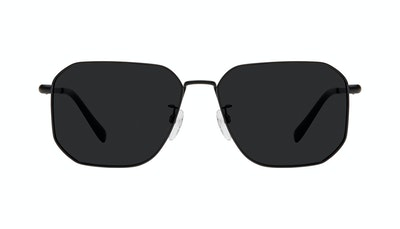 Lunettes tendance Carrée Lunettes de soleil Hommes Timeless Matte Black Face
